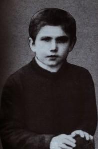 Sv. Maksimilijan Kolbe kao dijete