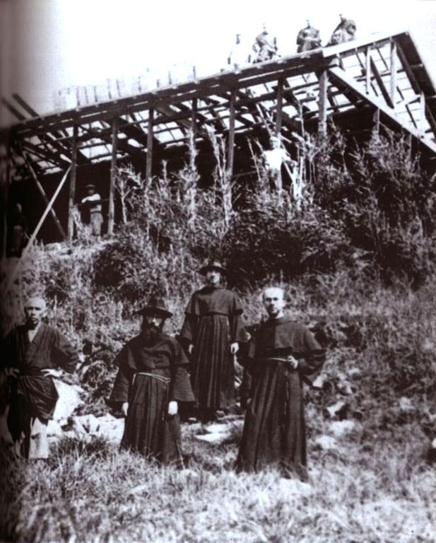 Sv. Maksimilijan u Japanu - gradnja