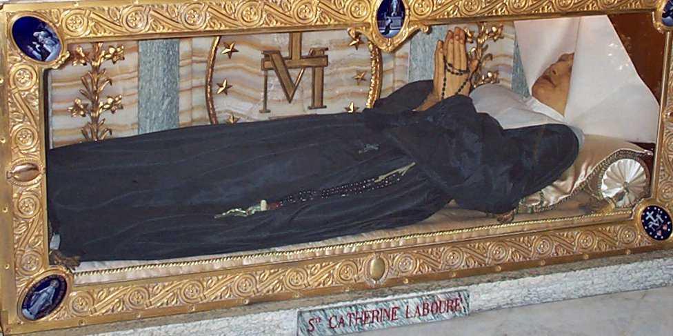 Neraspadnuto tijelo sv. Katarine Laboure